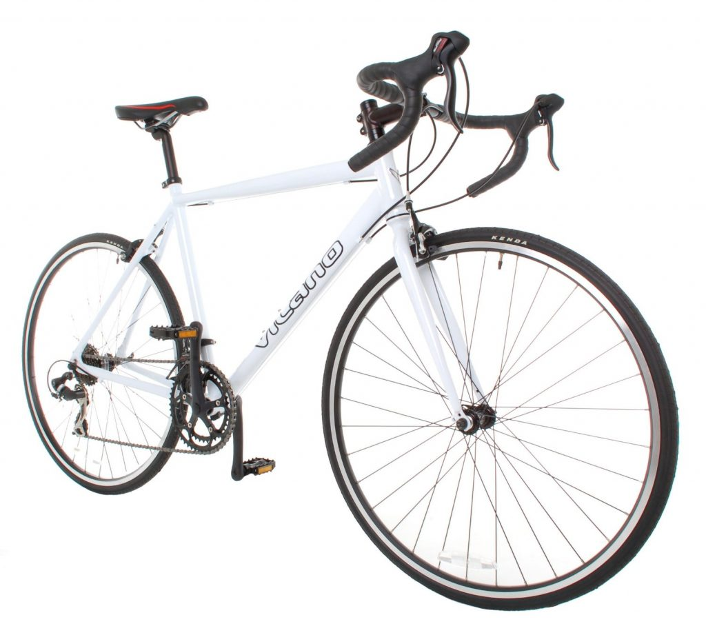 Vilano Shadow Road Bike-white
