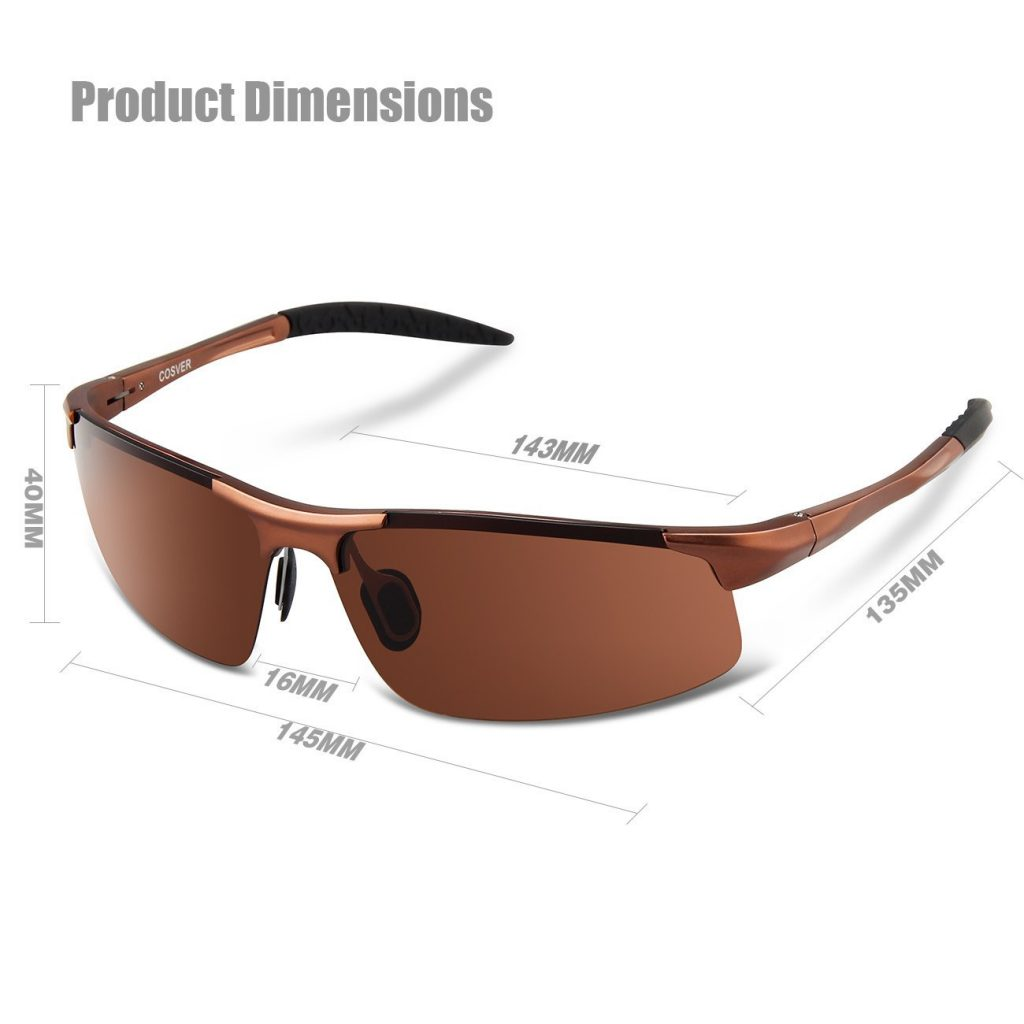 Cosver Polarized Sports Sunglasses
