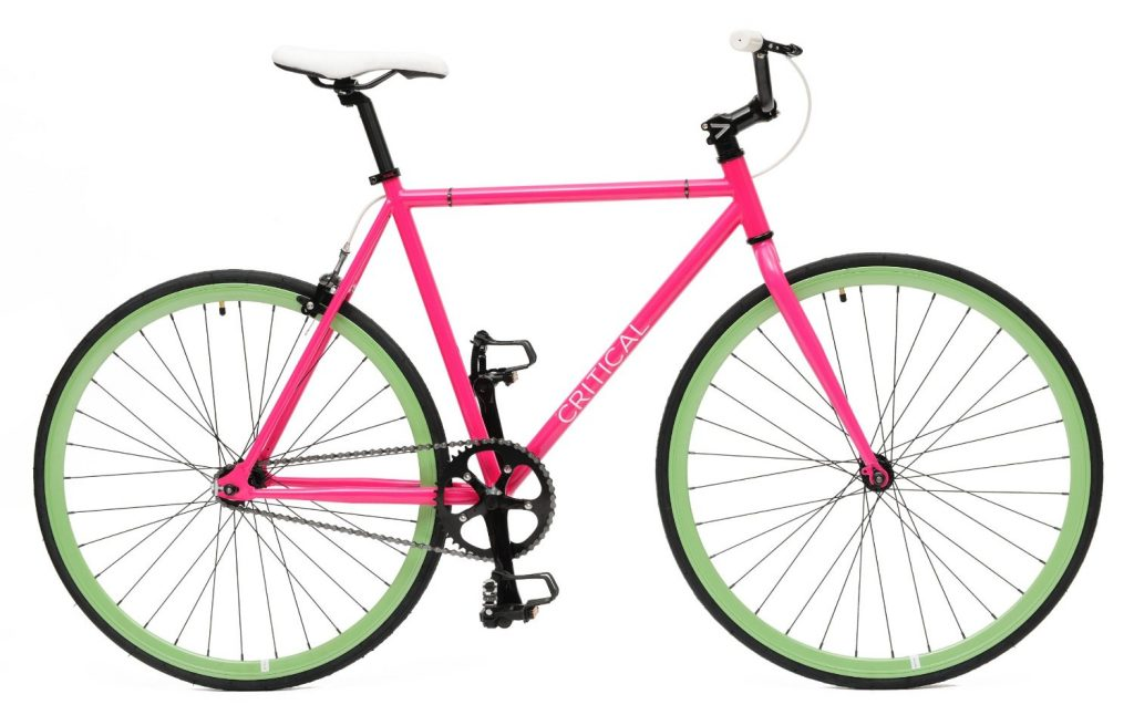 Critical Cycles Fixed Gear Single Speed Fixie Urban Road Bike-pink