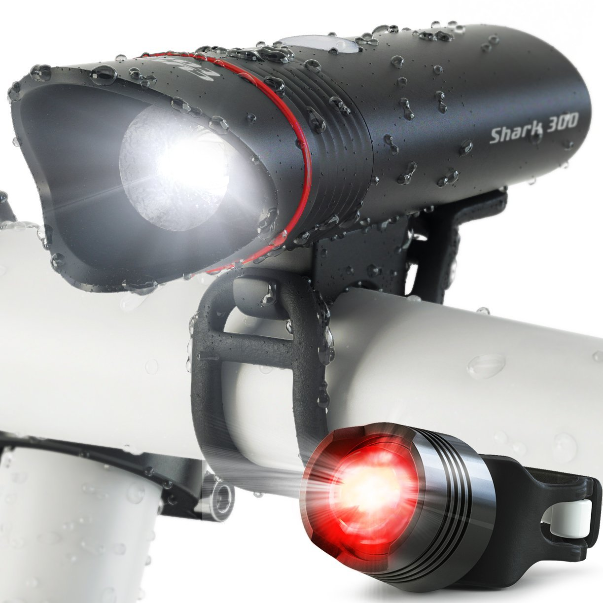Cycle Torch Shark 300 Bicycle HeadLight